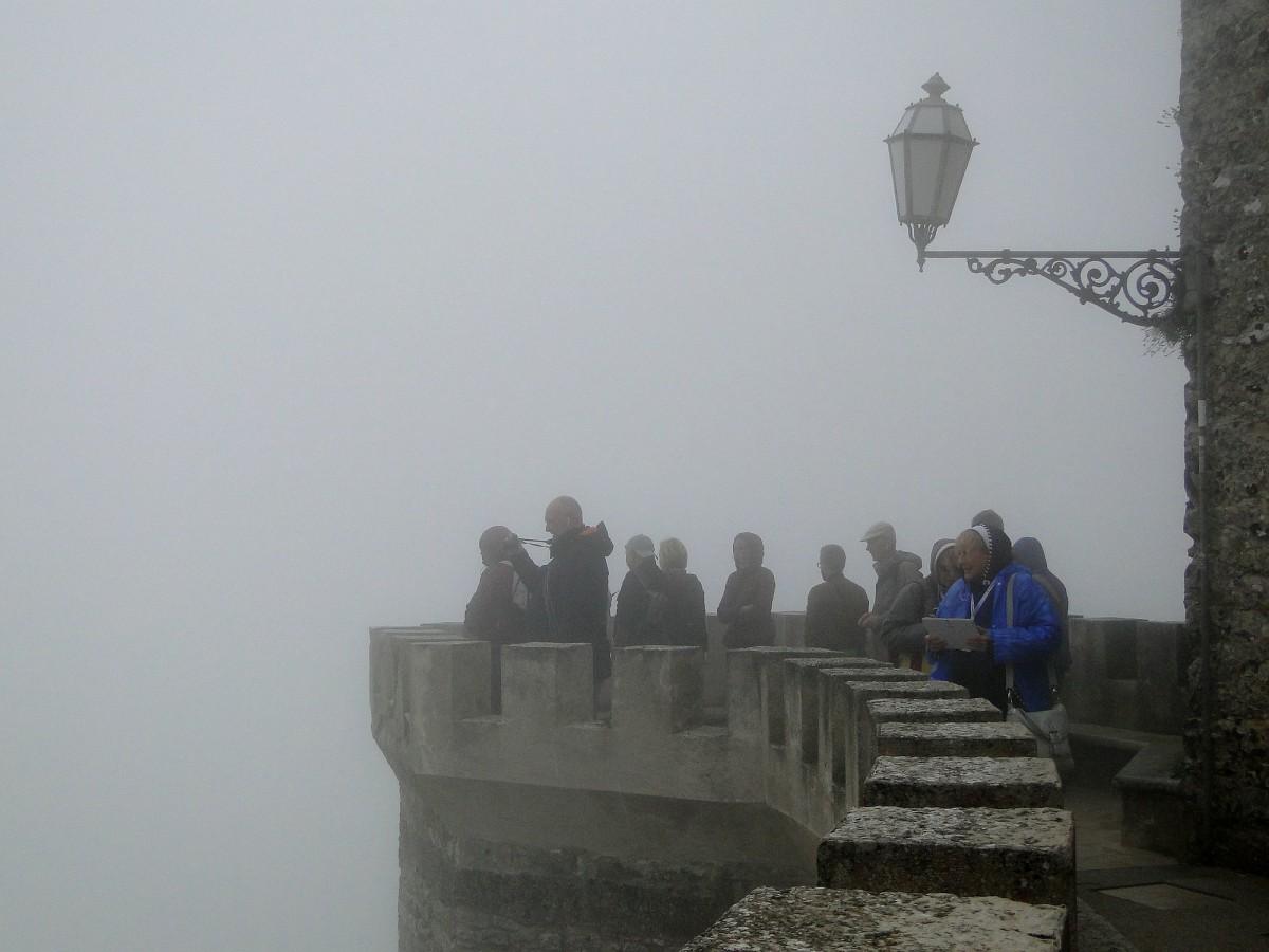 Zdjęcia: Erice., Sycylia, Z podróży po Sycylii - ericejskie mgły (2), WłOCHY