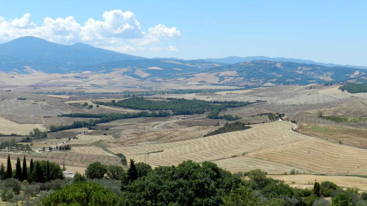 Zdjęcia: Val d'Orcia, Toskania, Val d'Orcia, WłOCHY