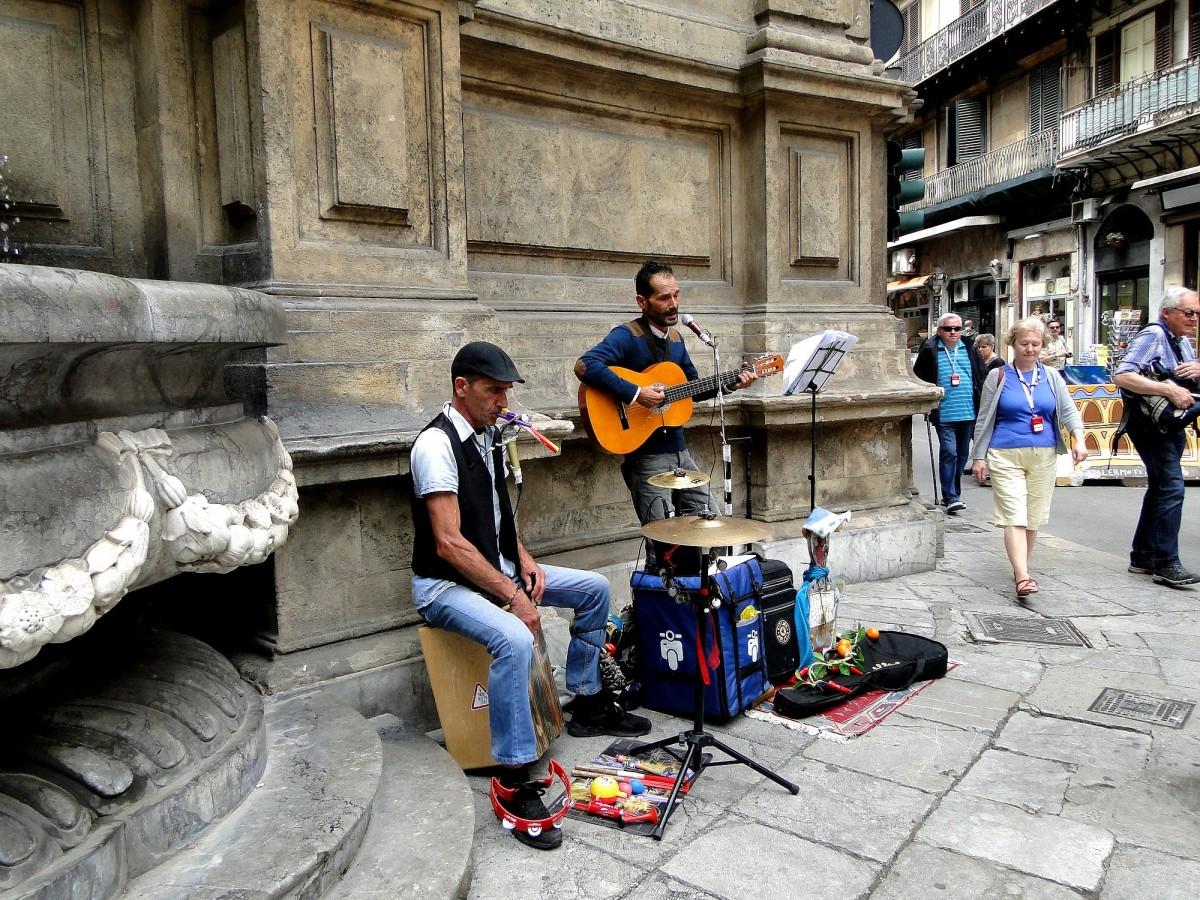 Zdjęcia: Palermo, Sycylia, Klimaty Palermo., WłOCHY