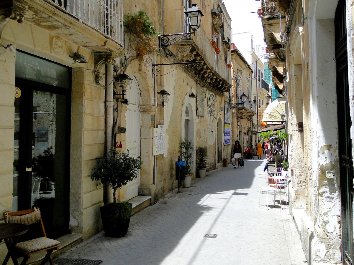 Zdjęcia: Syrakuzy, Sycylia, Z podróży po Sycylii - Syrakuzy (8), WłOCHY