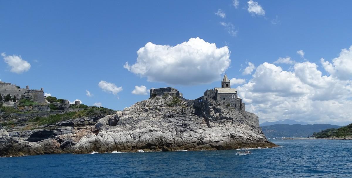 Zdjęcia: Portovenere, Liguria/Cinque Terre, Na skalnym cyplu, WłOCHY