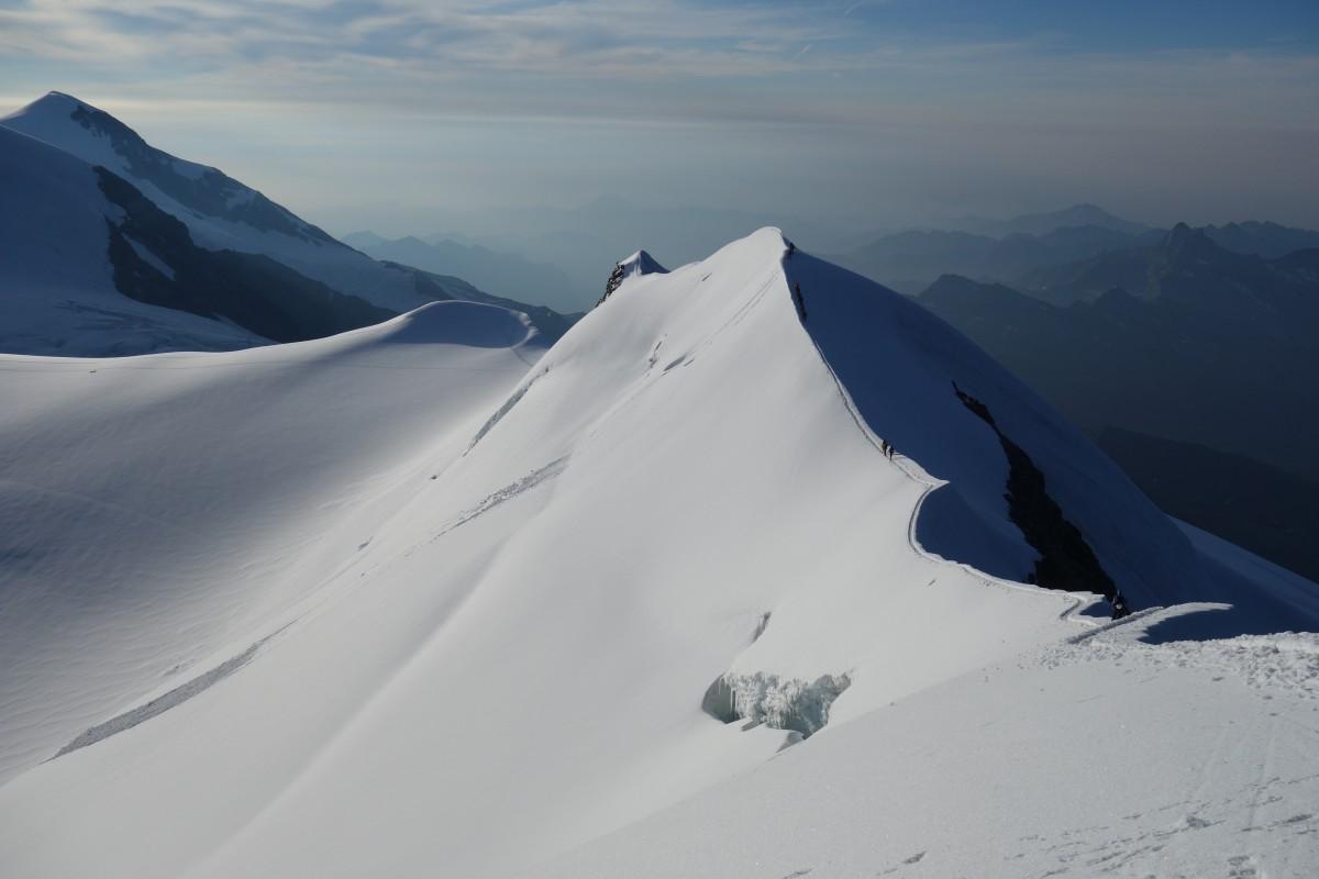 Zdjęcia: Masyw Monte Rosa, Alpy Penińskie, Tak bez końca, WłOCHY