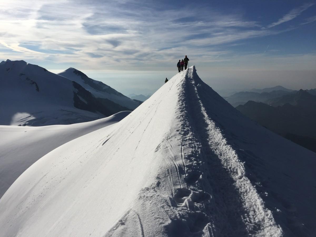 Zdjęcia: Masyw Monte Rosa, Alpy Penińskie, Iść ciągle iść., WłOCHY