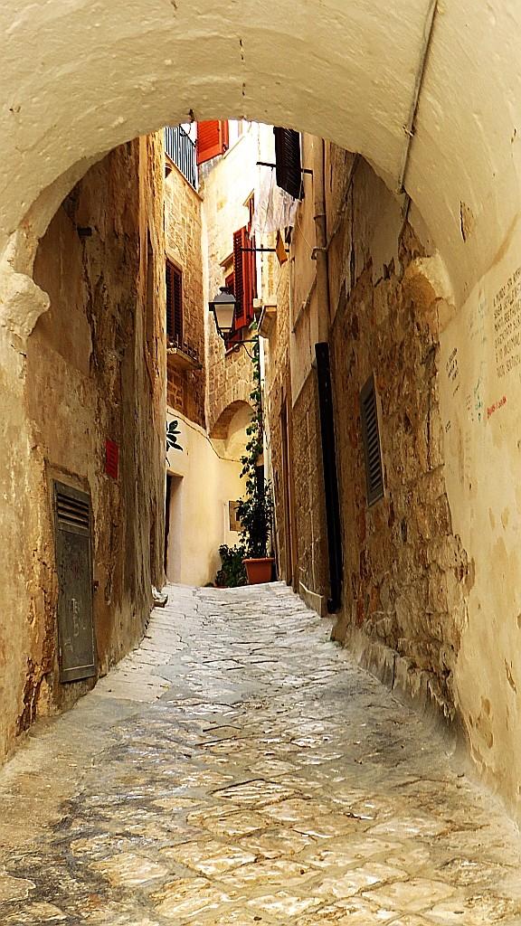 Zdjęcia: Polignano a Mare, Apulia, stare miasto, WłOCHY