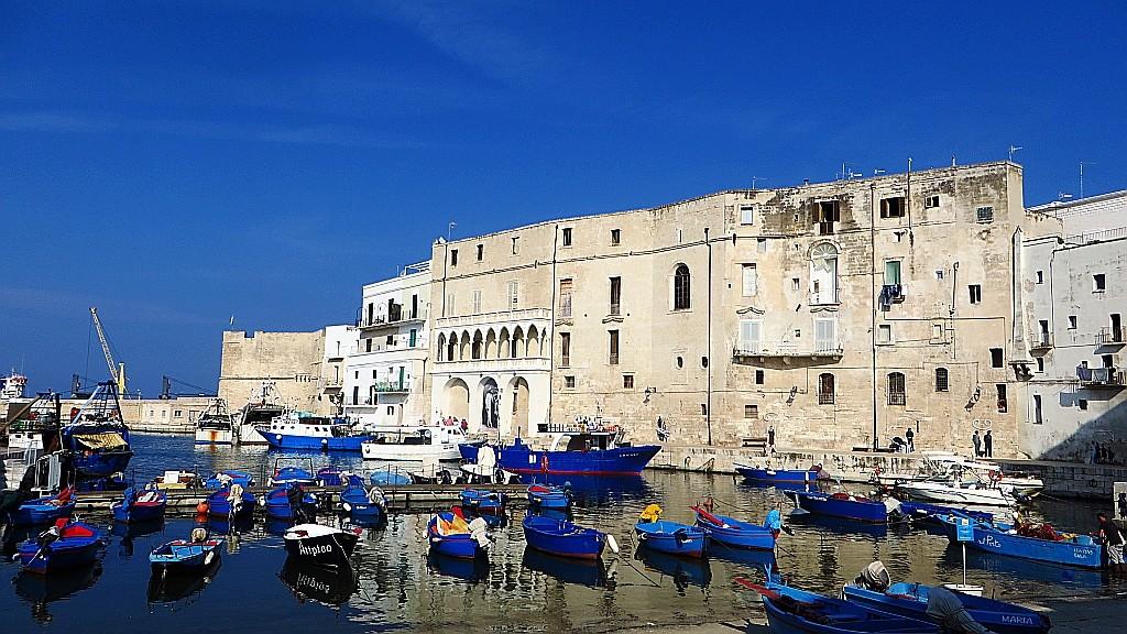Zdjęcia: Monopoli, Apulia, port rybacki, WłOCHY