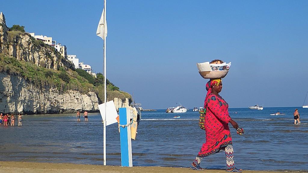 Zdjęcia: Vieste, Apulia, plaża w Vieste, WłOCHY