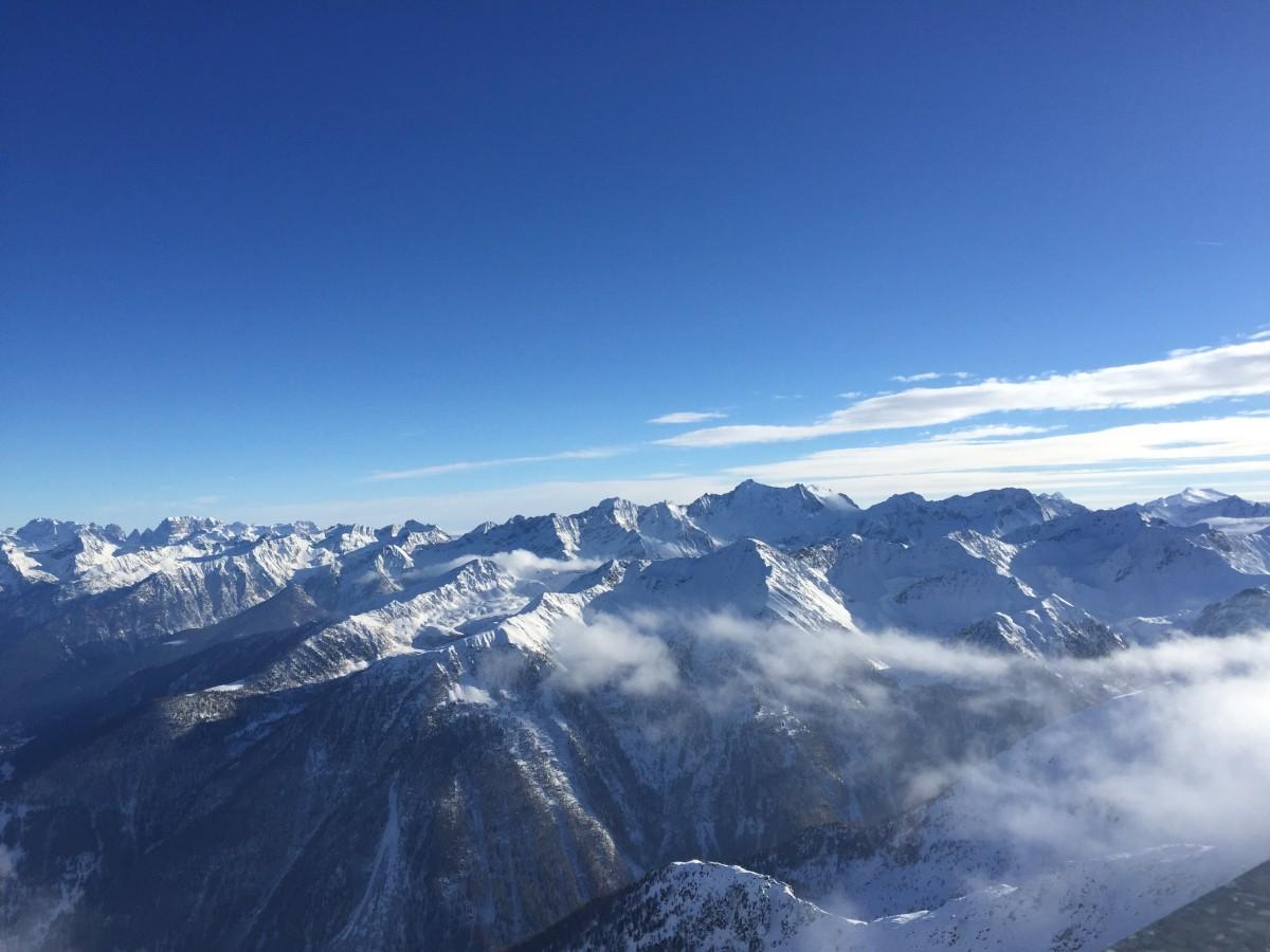 Zdjęcia: Pejo , Val di sole, W chmurach, WłOCHY
