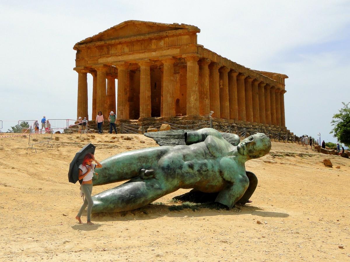 Zdjęcia: Agrigento, Sycylia, Z podróży po Sycylii., WłOCHY