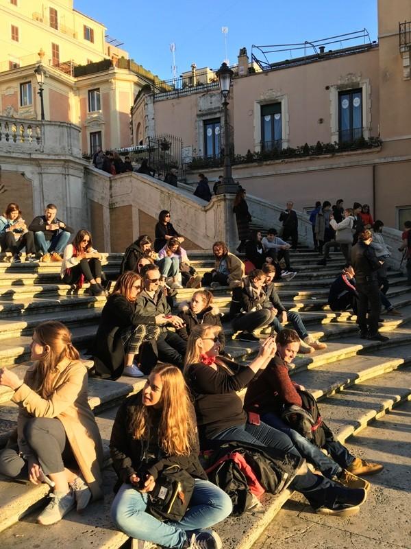 Zdjęcia: Rzym, Lacjum, Schody Hiszpańskie, WłOCHY