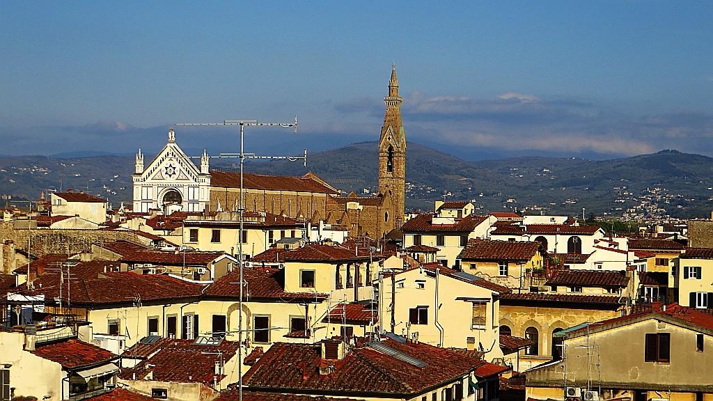 Zdjęcia: Florencja, Toskania, Palazzo Vecchio - widok z tarasu Saturna, WłOCHY