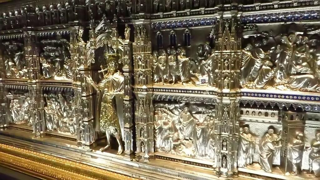Zdjęcia: Florencja, Toskania, Museo dell'Opera dell Duomo - ołtarz, WłOCHY