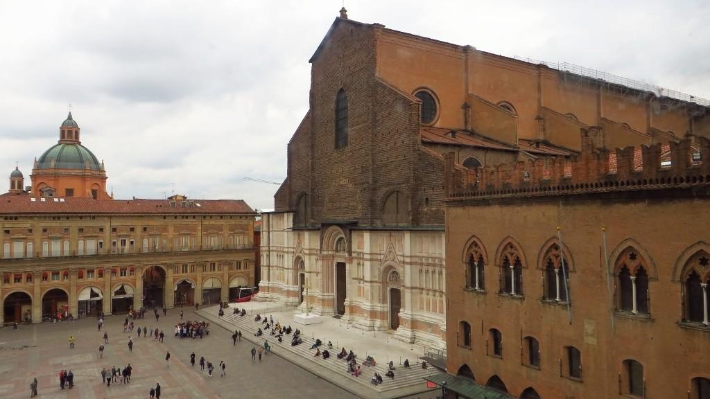 Zdjęcia: Bolonia, Emilia-Romania, Piazza Maggiore, WłOCHY