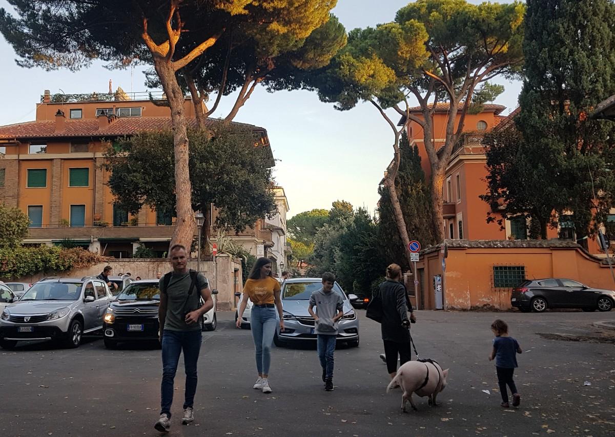 Zdjęcia: Awentyn, Lacjum, A tymczasem w Rzymie..., WłOCHY