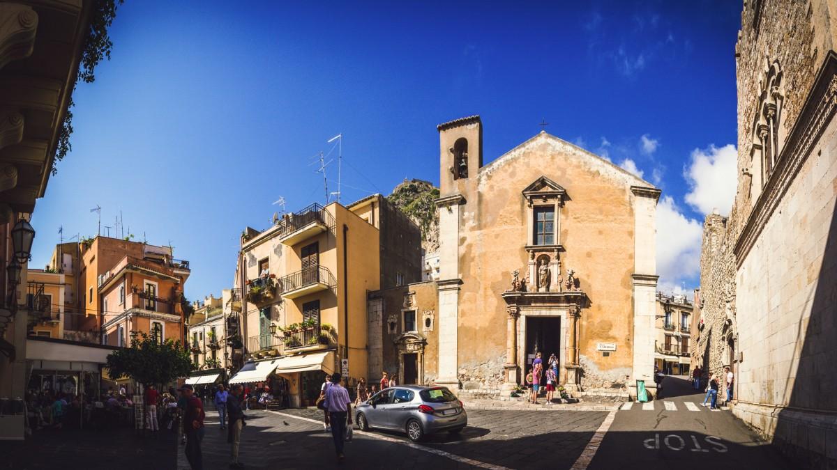 Zdjęcia: Taormina, Sycylia, Taormina St.Catherine, WłOCHY