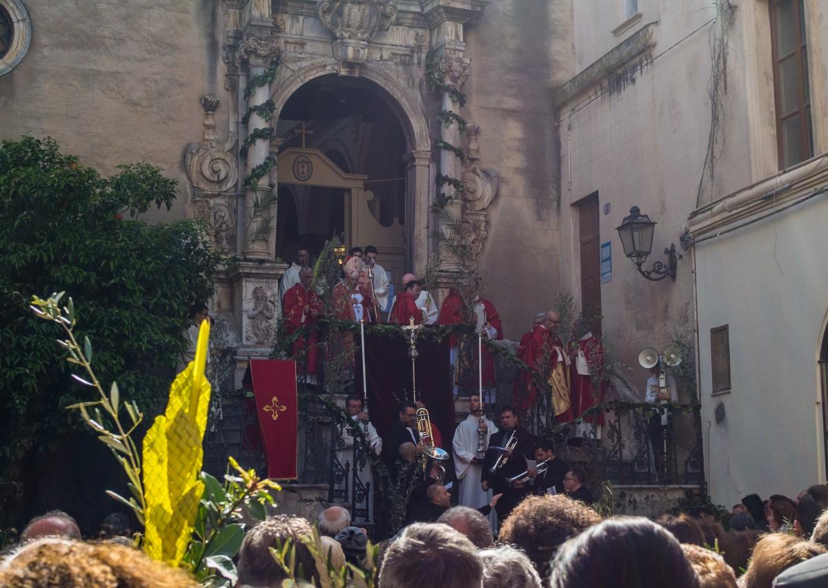 Zdjęcia: Cefalu, Sycylia, Niedziela Palmowa na Sycylii, WłOCHY