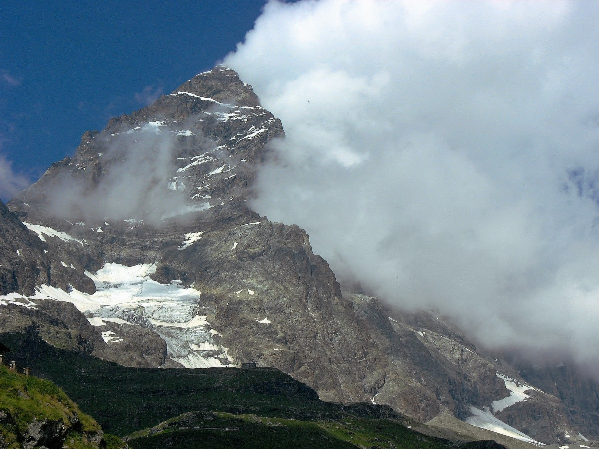 Zdjęcia: Okolice Cervinia, Alpy, Matterhorn, WłOCHY