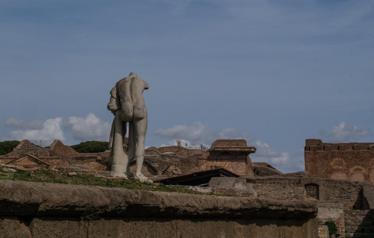 Zdjęcia: Ostia Antica, Lacjum, starożytne ruiny, WłOCHY