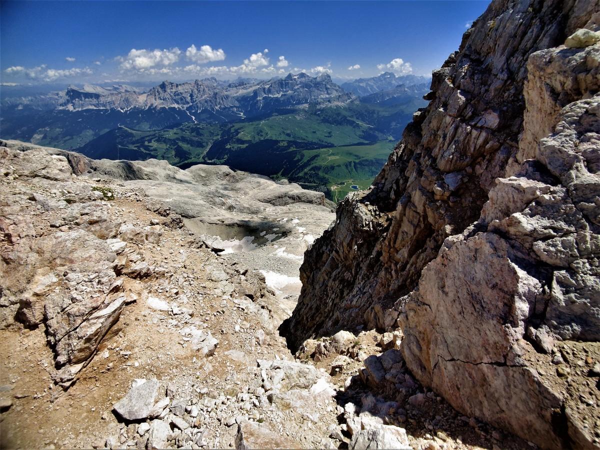 Zdjęcia: Piz Boe, alpy, pod szczytem trzytysięcznika , WłOCHY