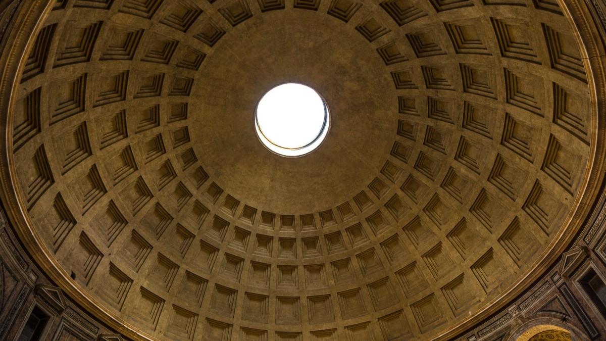 Zdjęcia: Panteon, Lacjum, MAGRIPPALFCO SULTERTIUM FECIT, WłOCHY