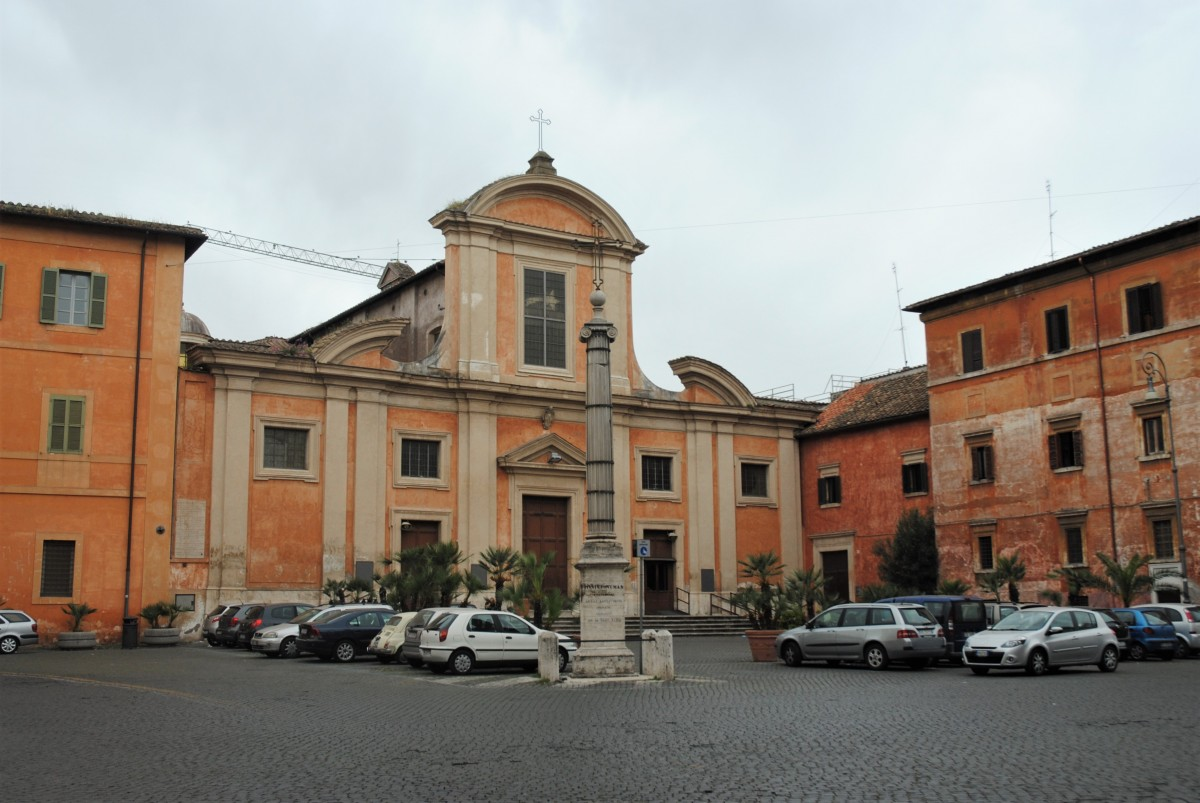Zdjęcia: Rzym, Lazio, Zatybrze, Kościół św. Franciszka a Ripa, WłOCHY