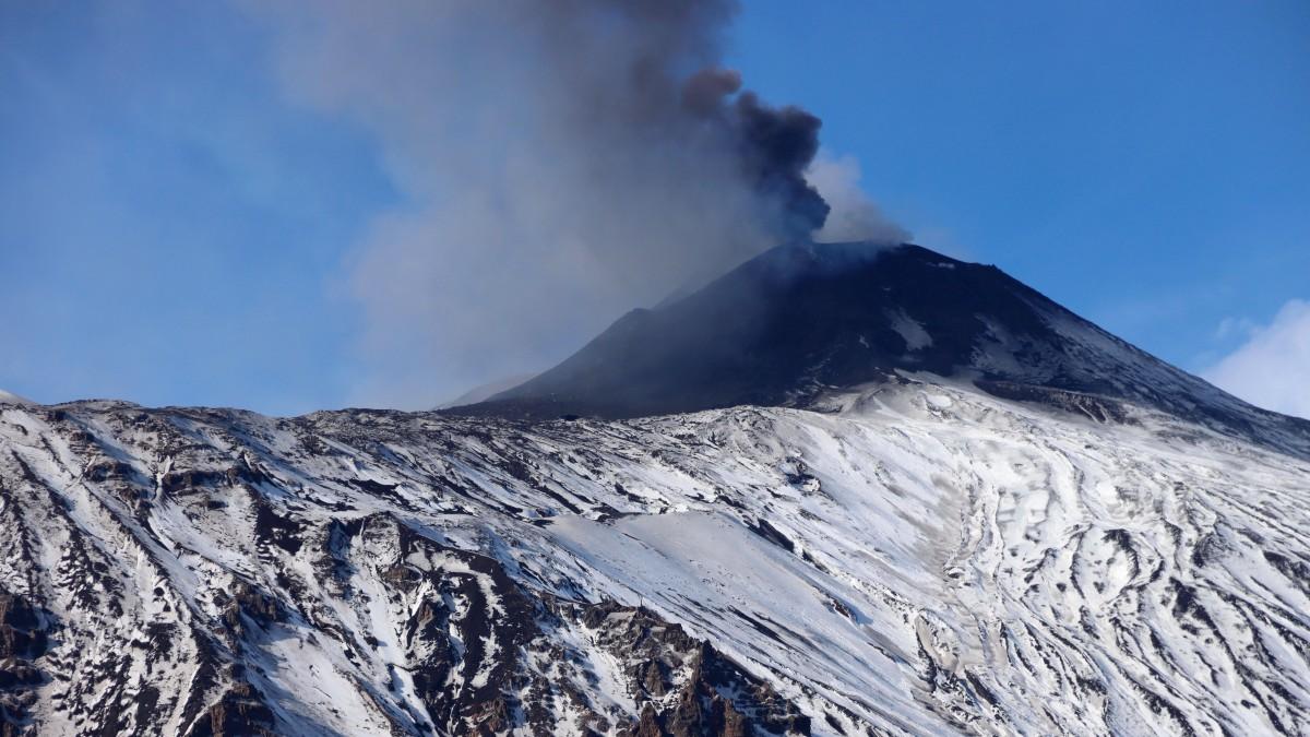 Zdjęcia: Etna, Sycylia, Wybuch Etny, WłOCHY