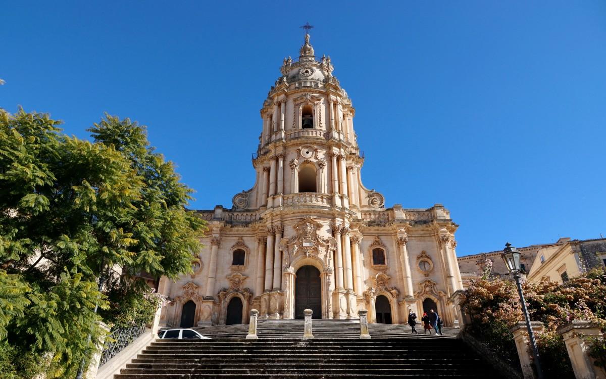 Zdjęcia: Modica, Sycylia, Katedra św. Jerzego, WłOCHY