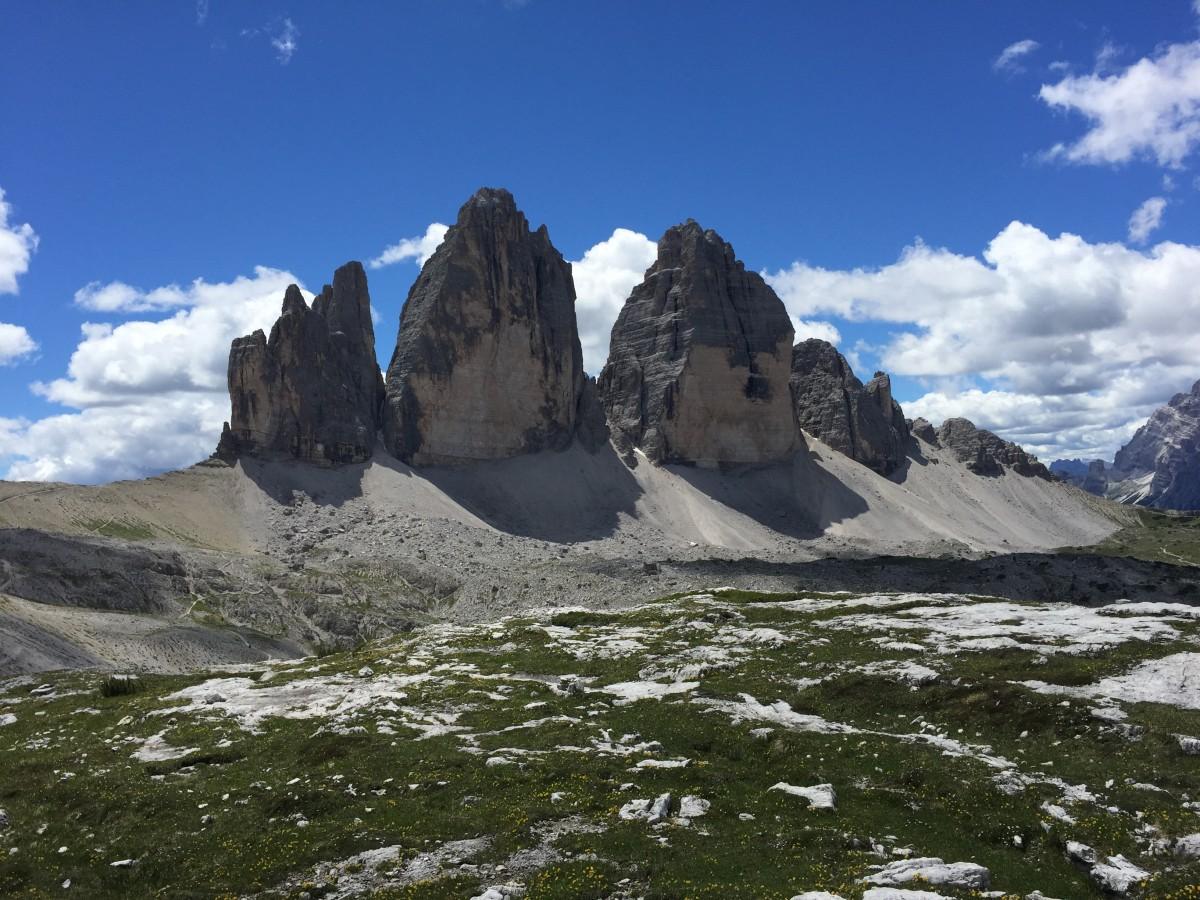 Zdjęcia: Tre Cime di Lavaredo, Górskie rejony, WłOCHY