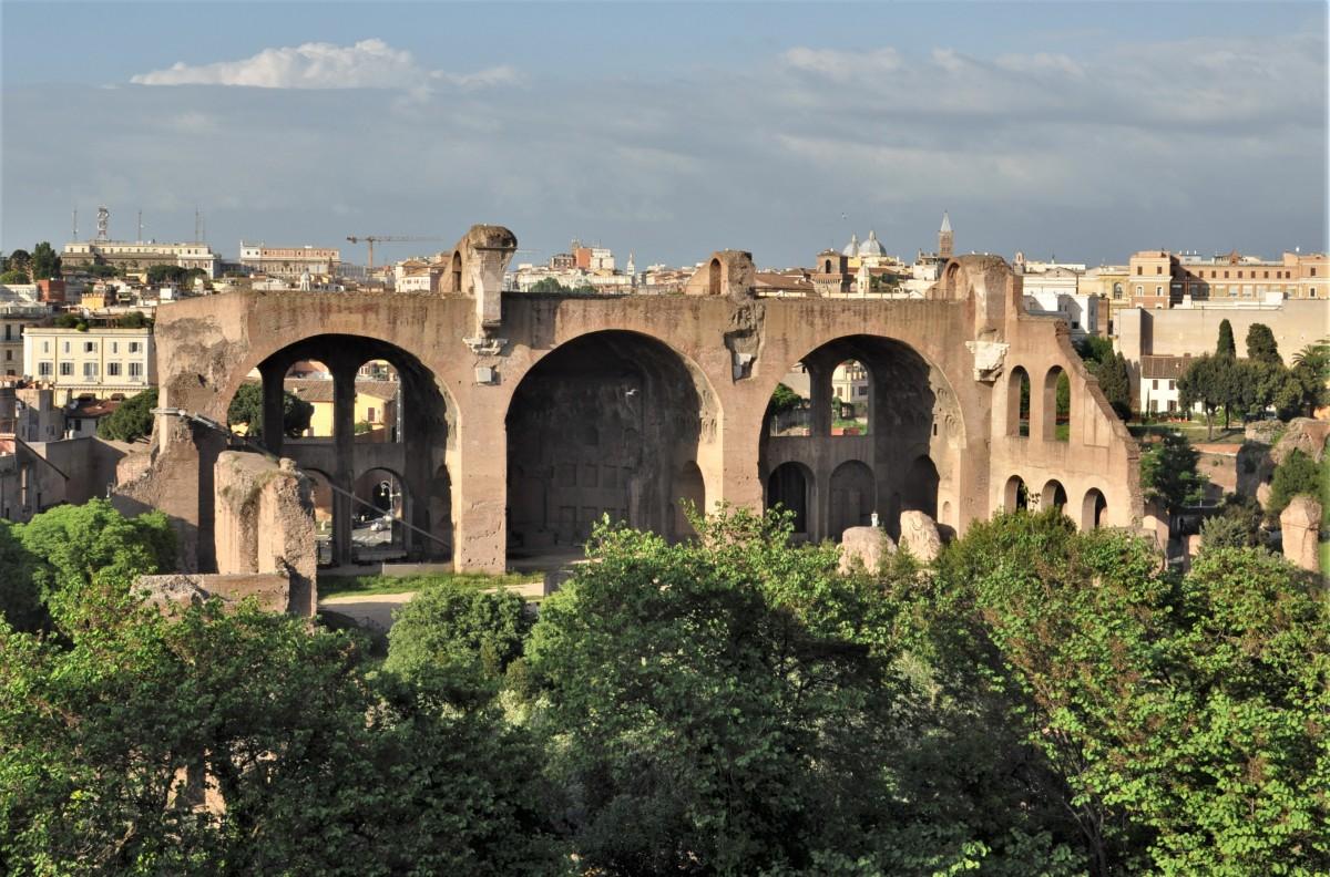 Zdjęcia: Rzym, Lazio, Rzym, Basilica di Massenzio, WłOCHY