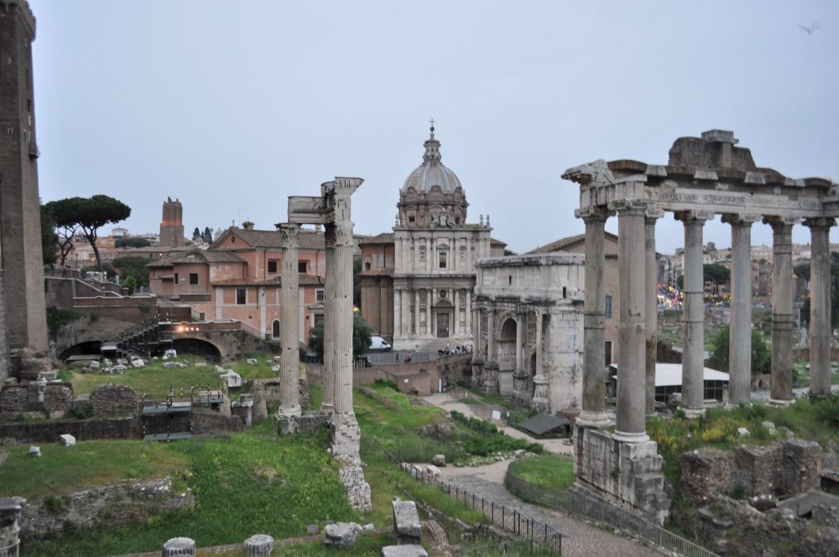 Zdjęcia: Rzym, Lazio, Rzym, Forum Romanum, WłOCHY