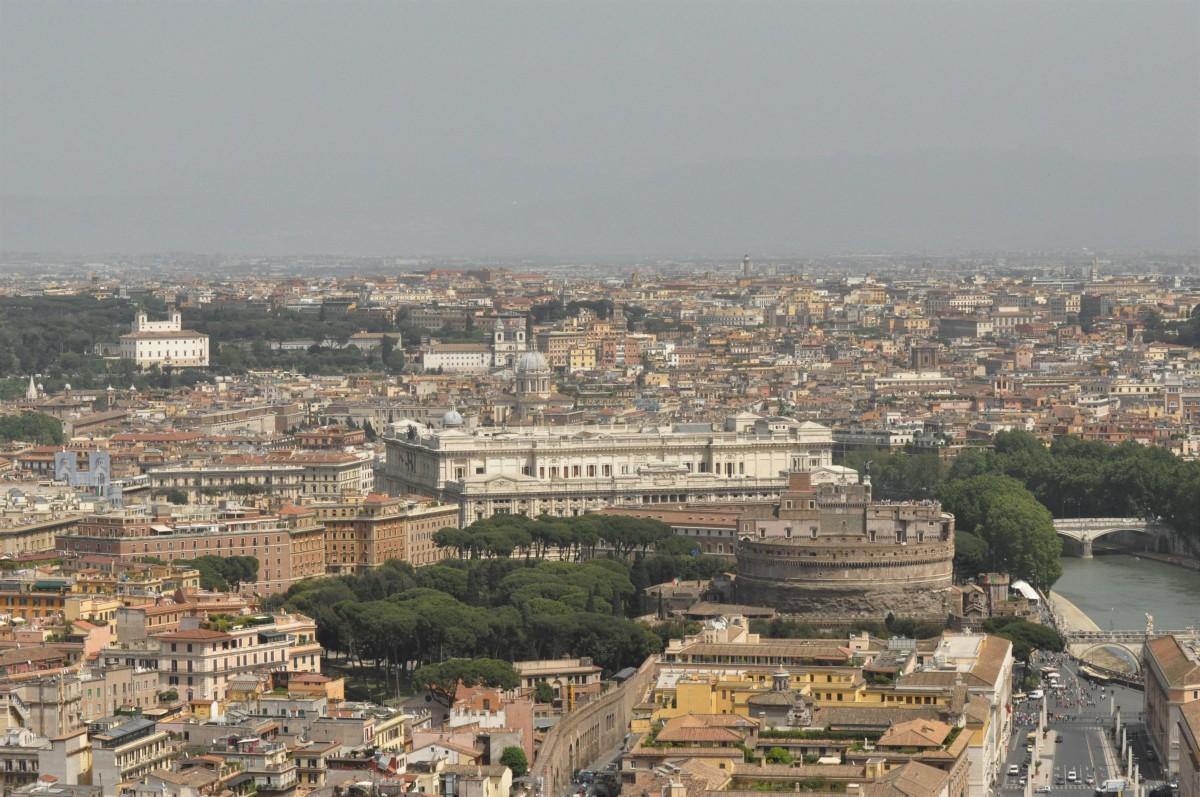 Zdjęcia: Rzym, Lazio, Rzym, widok z Watykanu, WłOCHY