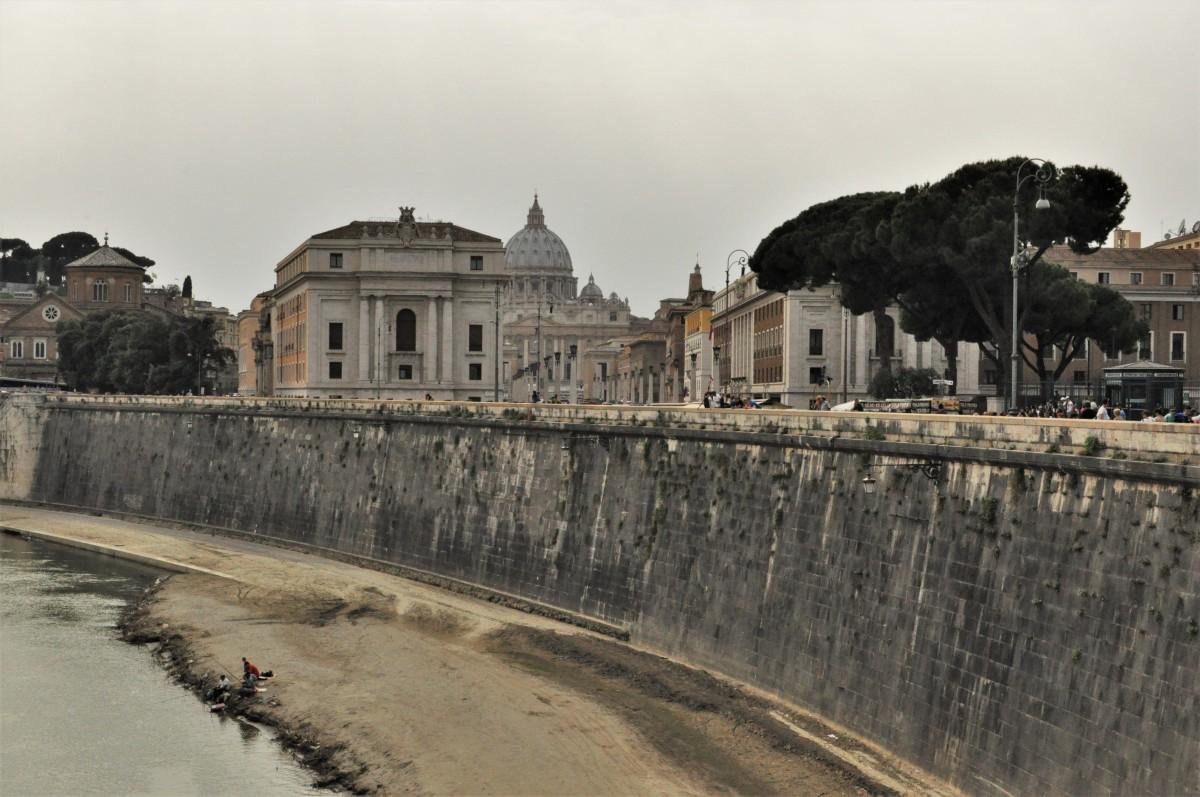 Zdjęcia: Rzym, Lazio, Rzym, widok na Watykan, WłOCHY