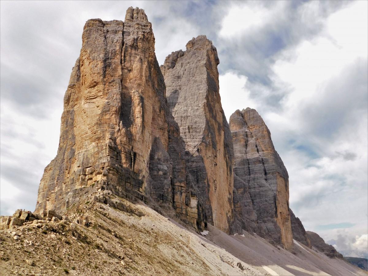 Zdjęcia:  Tre Cime, dolomity, Tre Cime, WłOCHY