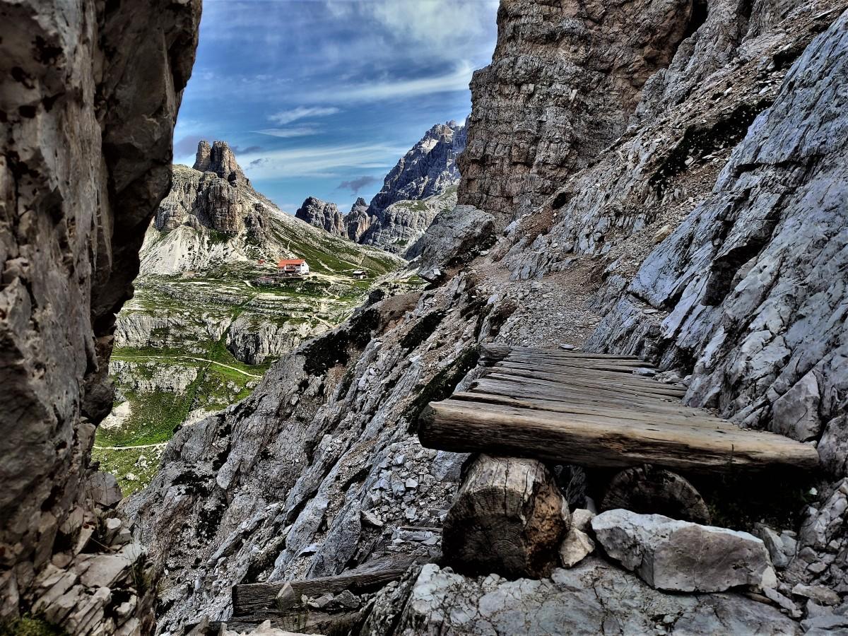 Zdjęcia:  Tre Cime, dolomity, droga do piękna, WłOCHY