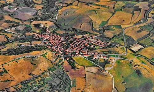 Zdjęcie WłOCHY / Sardynia / Sardynia / San Michele z powietrza