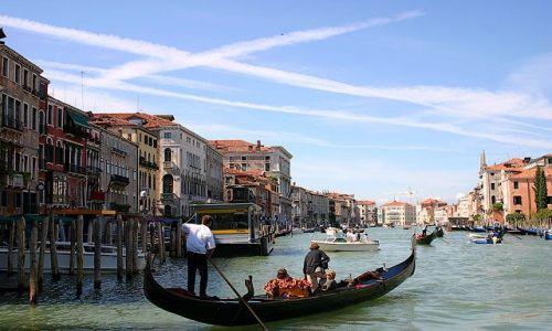 Zdjęcie WłOCHY / Wenecja / Canal Grande / pocztówkowo