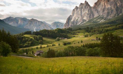 W�OCHY / Dolomity / Misurina / okolice Misuriny