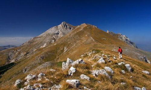 WłOCHY / Gran Sasso dItalia / Monte Camicia / Na grani