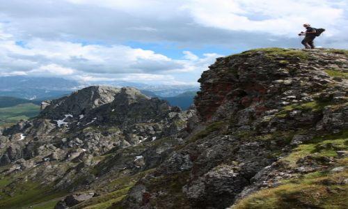 Zdjecie WłOCHY / Alpy / Dolomity / Człowiek i góry