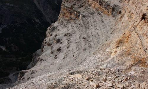 Zdjecie WłOCHY / Alpy / Dolomity / Niezwykły amfiteatr na ferracie Giovanni Lipella