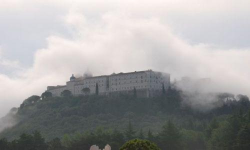 Zdjęcie WłOCHY / Campania / Monte Casino / Klasztor