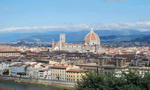 Zdjecie WłOCHY / Toskania / Florencja / Panorama Florencji
