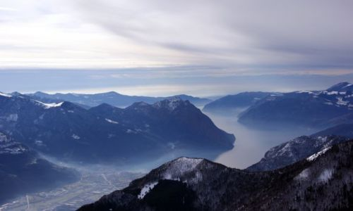 Zdjecie WłOCHY / Alpy / Presolana / Presolana