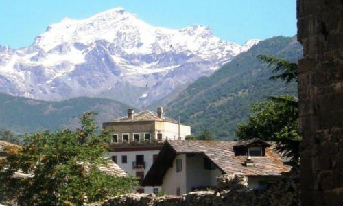 Zdjecie W�OCHY / Dolina Aosty / Aosta / Widok na Alpy