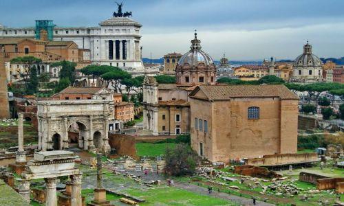 Zdjecie WłOCHY / Lazio / Rzym / Wieczne ruiny