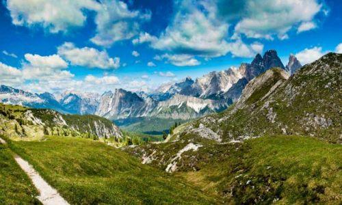 Zdjecie WłOCHY / Dolomity / Cortina d'Ampezzo / Panorama Dolomity