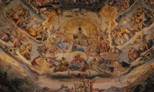 Zdjecie WłOCHY / Toskania / Florencja / Sąd Ostateczny