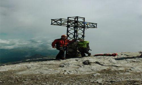 WłOCHY / Dolomity / Marmolada / Na szczycie Marmolady