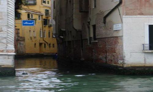 Zdjecie WłOCHY / Wenecja / Wenecja / Uliczka w Wenec