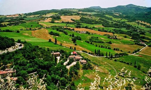 WłOCHY / Region Marche w prowincji Pesaro e Urbino / San Leo / Okoloice San Leo