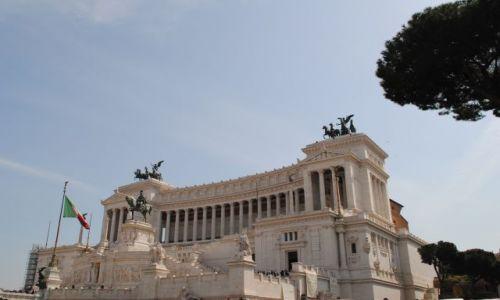 Zdjecie WłOCHY / Rzym / Rzym / Ołtarz ojczyzny